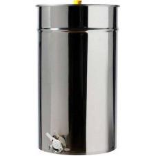 Ανοξείδωτη Δεξαμενή (Inox) Μελιού Θερμαινόμενη με Καπάκι Κατσαρόλας 600lt -840kg (GR600-840AMΘ)