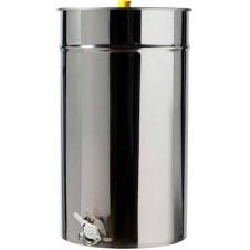 Ανοξείδωτη Δεξαμενή (Inox) Μελιού με Καπάκι Κατσαρόλας 300lt -420kg (GR300-420AMΘ)
