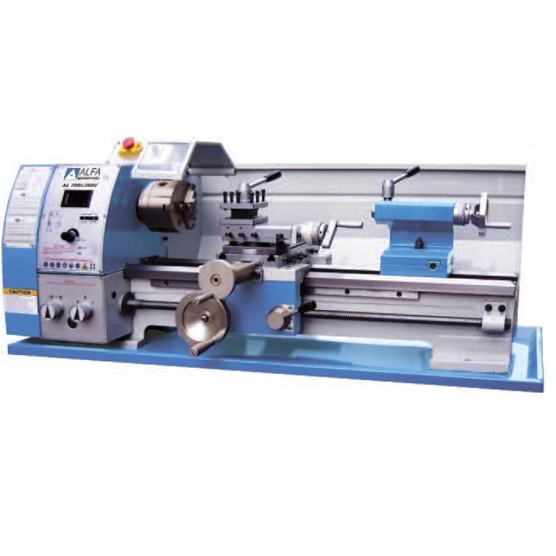 Μηχανουργικός τόρνος AL 750x250mm (230V) Variable Speed