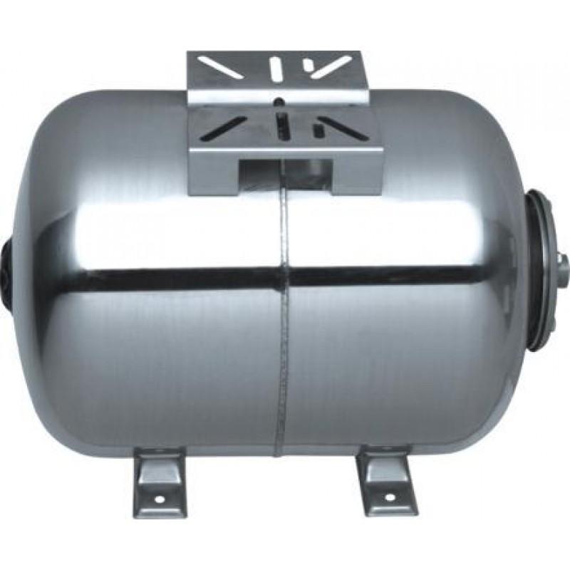 Πιεστικό δοχείο νερού ανοξείδωτο (Inox) οριζόντιο 50lt SCF50L