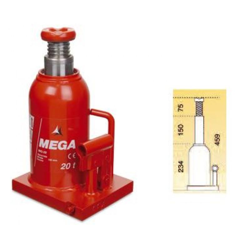 Γρύλλος μπουκάλας υδραυλικός 20 ton BR-20
