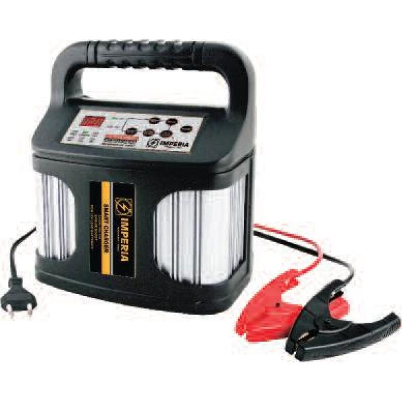 Αυτόματος ηλεκτρονικός φορτιστής μπαταριών 12V 15A max.