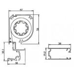 Σίτα για παράθυρο κάθετης κίνησης RWS-A 120x160 cm