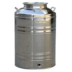 Ανοξείδωτο δοχείο - δεξαμενή (Inox) Aggraffati  βιδωτό 100lt SANSONE