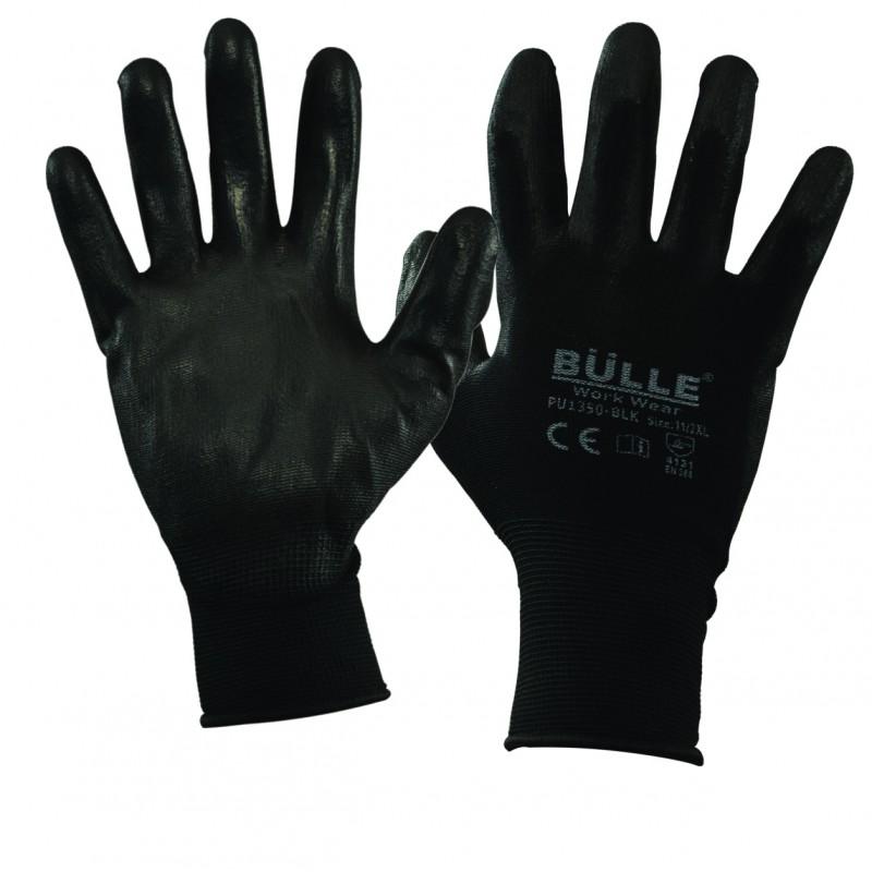 Γάντια Πολυουρεθάνης PU1350-BLCK (μέγεθος 10)