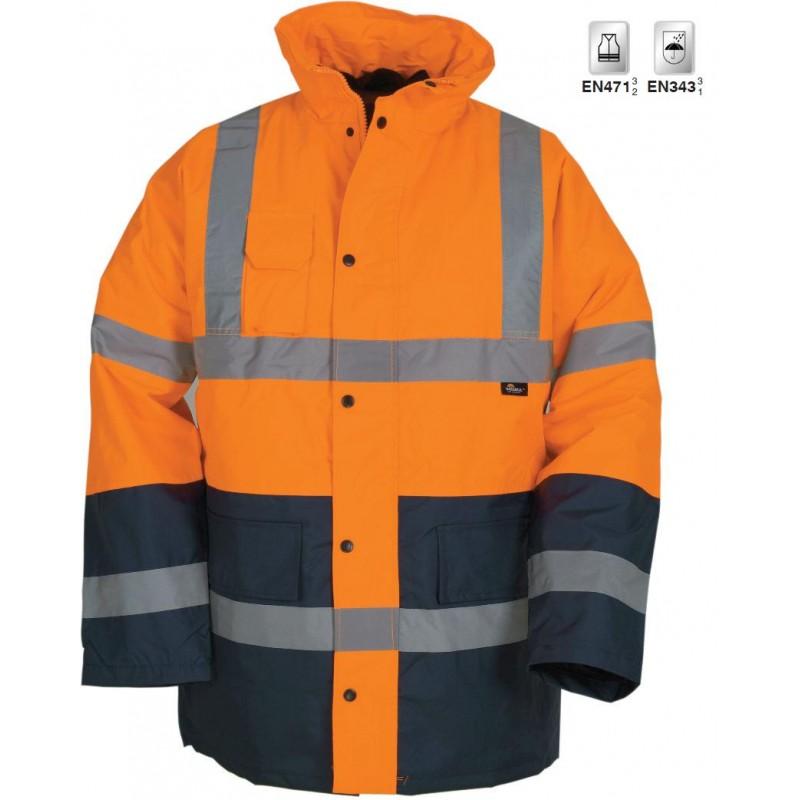 Μπουφάν «Hamburg» VWJK05 πορτοκαλί - XL