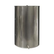 Ανοξείδωτη δεξαμενή (Inox) με καπάκι κατσαρόλας 500lt (GR500AE)