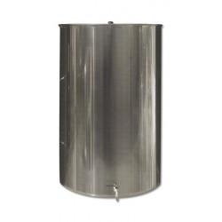 Ανοξείδωτη δεξαμενή (Inox) με καπάκι κατσαρόλας 100lt (GR100AE)