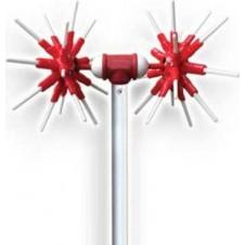 Ελαιοραβδιστικό Μπαταρίας MIYAKE Flex με Σταθερό Κοντάρι 2.3m (302114)