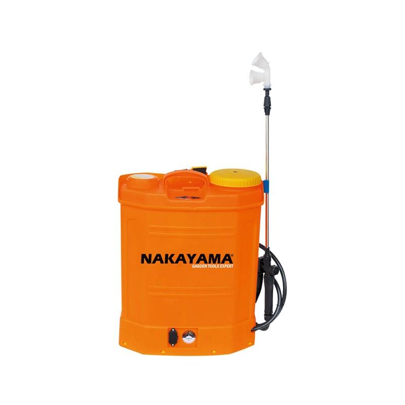 Επαναφορτιζόμενος ψεκαστήρας πλάτης 16lt NAKAYAMA NS1612 (010395)