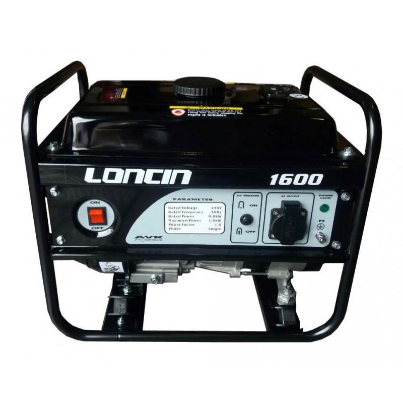 Μονοφασική γεννήτρια βενζίνης 0.9kW LONCIN (LC1600)