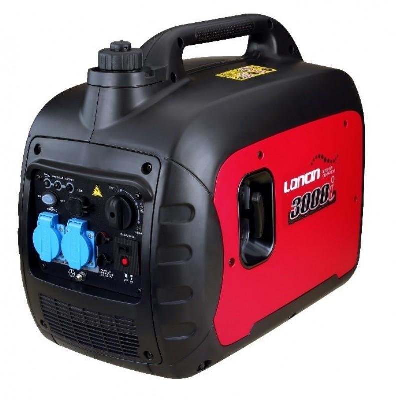 Μονοφασική γεννήτρια βενζίνης Inverter 2.5kW LONCIN (LC3000i)