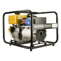 Μονοφασική γεννήτρια βενζίνης με μίζα 5.5kVA MASTER/ROBIN (RG5500EAVR)