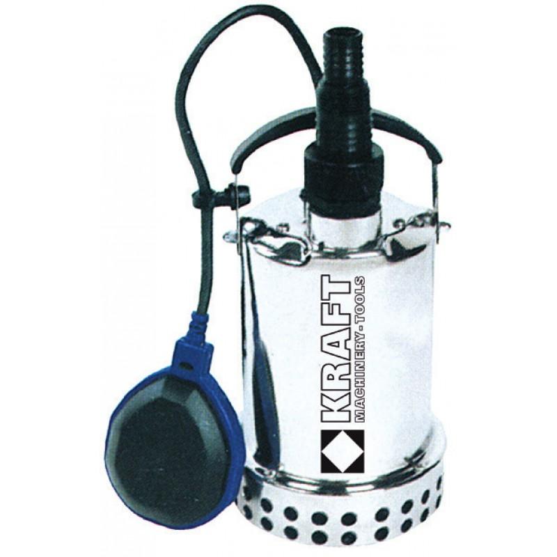 Ανοξείδωτη υποβρύχια αντλία ομβρίων υδάτων 550W KRAFT SP550X (43582)