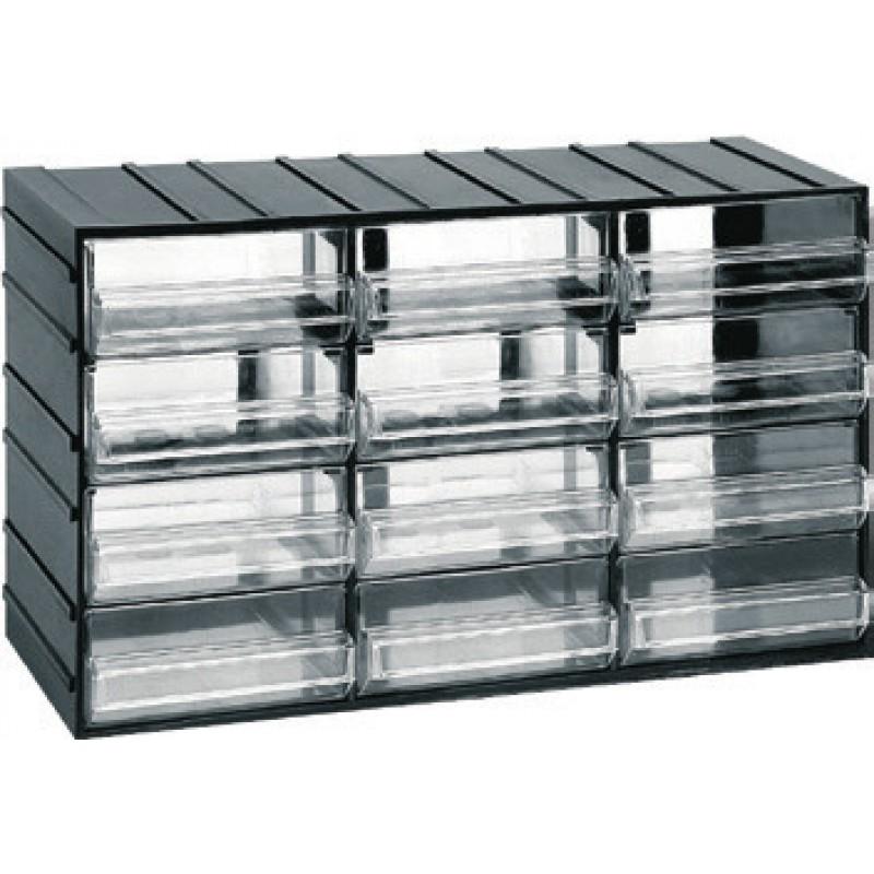 Κουτί αποθήκευσης με 12 συρτάρια (610106)