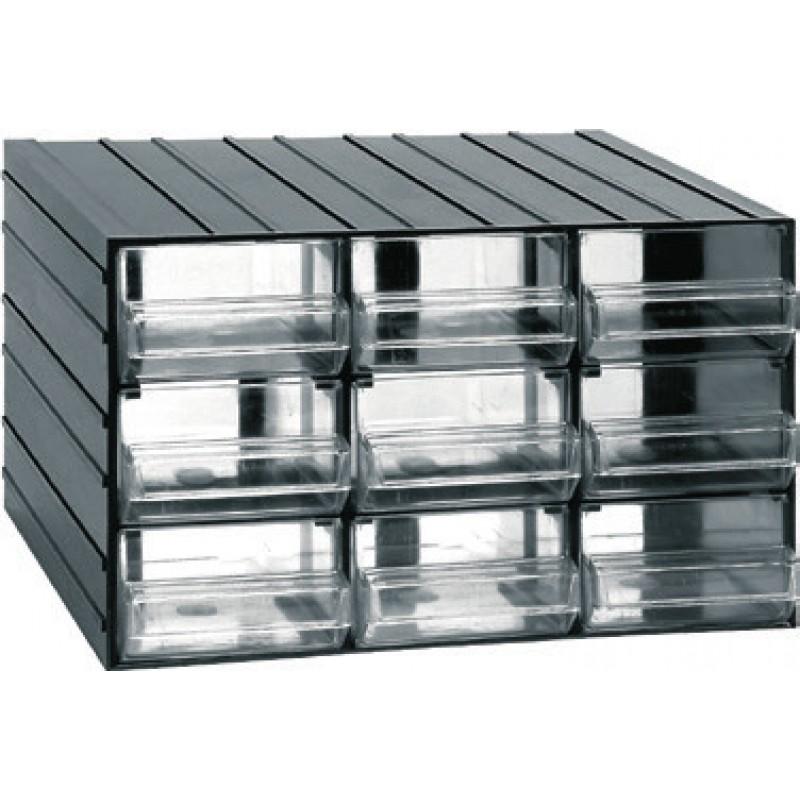 Κουτί αποθήκευσης με 9 συρτάρια (610110)
