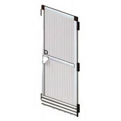 Σίτα για πόρτα 125x220cm γκρι (631241)