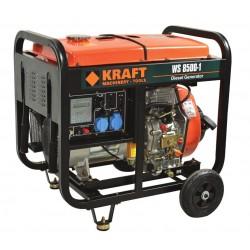 Ηλεκτρογεννήτρια πετρελαίου 6500W KRAFT WS8500-1 (63773)