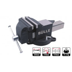 Μέγγενη πάγκου ατσάλινη (Professional) 200mm BULLE (64064)