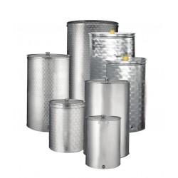 Ανοξείδωτη δεξαμενή - δοχείο (Inox) SANSONE πρεσσαριστό 100lt (κατσαρόλα) (693172)