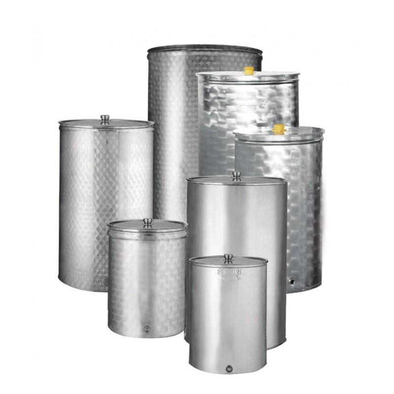Ανοξείδωτη δεξαμενή - δοχείο (Inox) SANSONE κολλητό 100lt (κατσαρόλα) (693175)