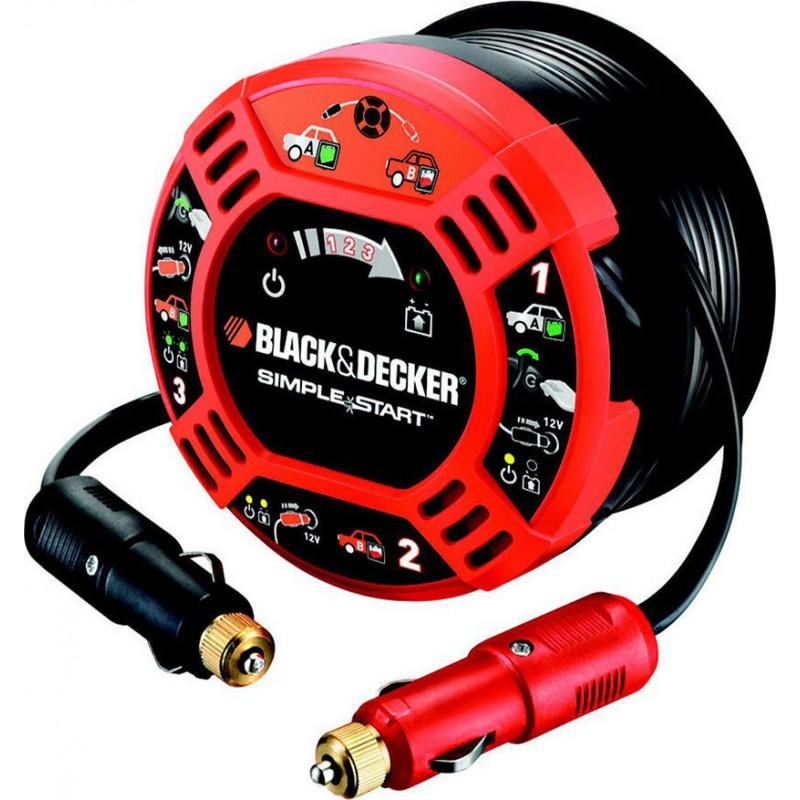 Καλώδιο Ενίσχυσης Μπαταρίας Αυτοκινήτου 12V Black & Decker BDBBC2C