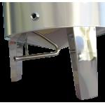Ανοξ. δεξαμενή (Inox) με κων. πυθμένα & καπάκι κατσαρόλας 100lt (GR100AK)
